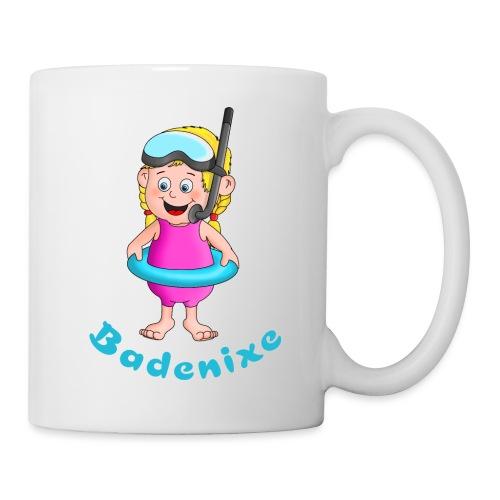 Badenixe - Schwimmerin - Tasse