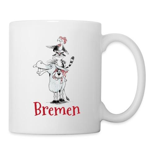 Bremer Stadtmusikanten - Tasse