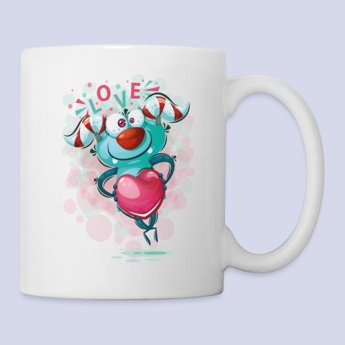 Monster cartoon love design - Mug