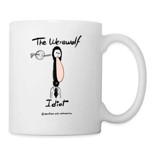 The Werewolf Idiot - Taza