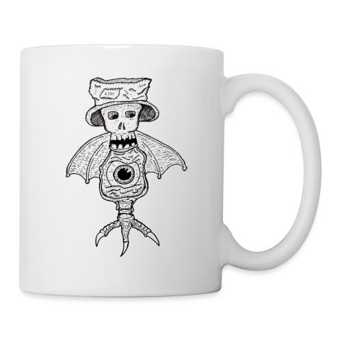 SkullBatEye - Mug blanc