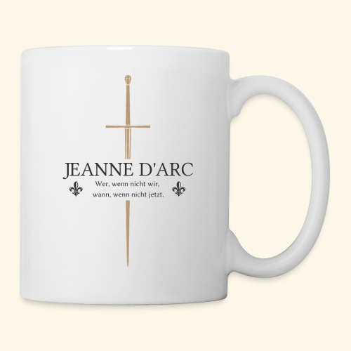 Jeanne d arc dark - Tasse