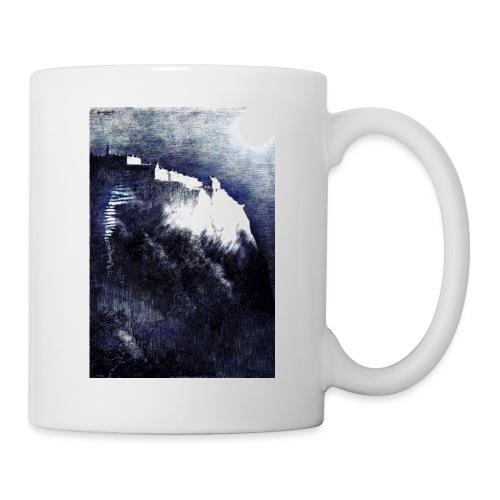 castle in the moonlight enhanced - Mug