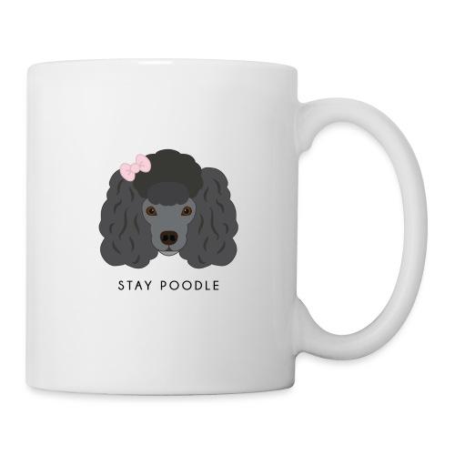 Poodle Black - Tazza