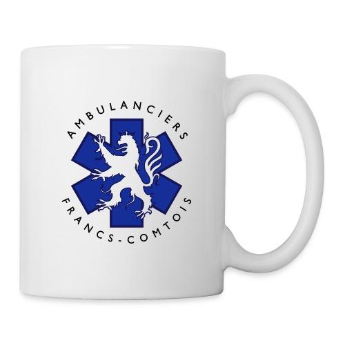 logo blue lion - Mug blanc