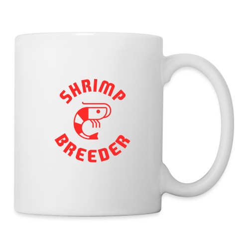 SHRIMP FARMER AQUARIUM CRS RED - Mug blanc
