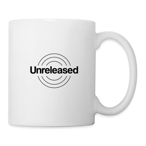 unreleased black - Mug blanc