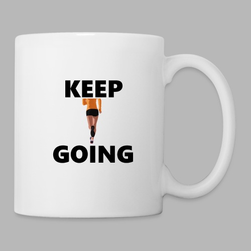 Keep going - Tasse