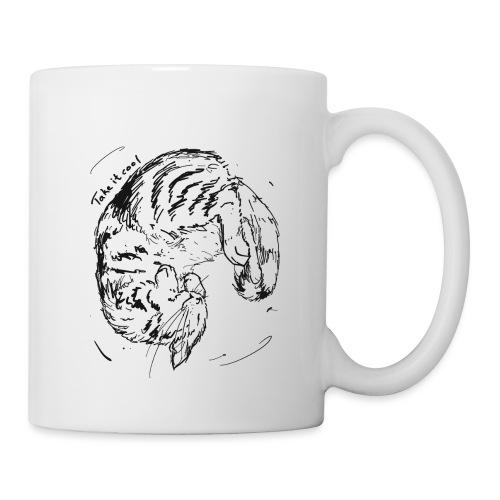 Take it cool BLACK - Mug