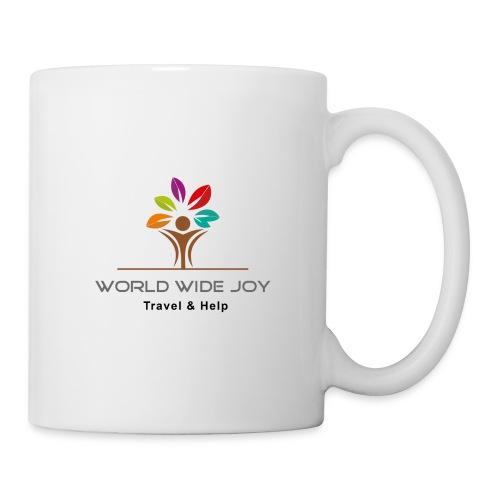 World Wide Joy Logo Subline - Tasse