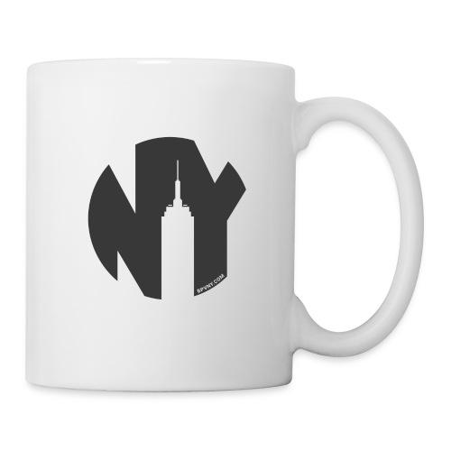 Logo French Yorker noir - Mug blanc