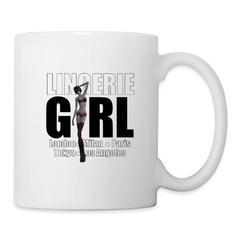 The Fashionable Woman - Lingerie Girl - Mug
