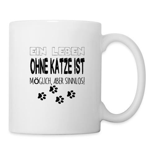 Katzen Katze Geschenk Katzenliebhaber Cat - Tasse