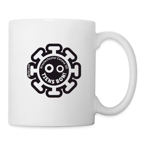 Corona Virus #restecheztoi noir - Mug