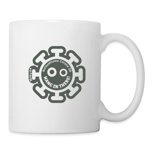 Corona Virus #stayathome gray - Mug