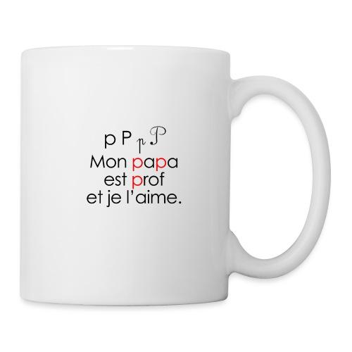 Le son P comme Papa - Mug blanc