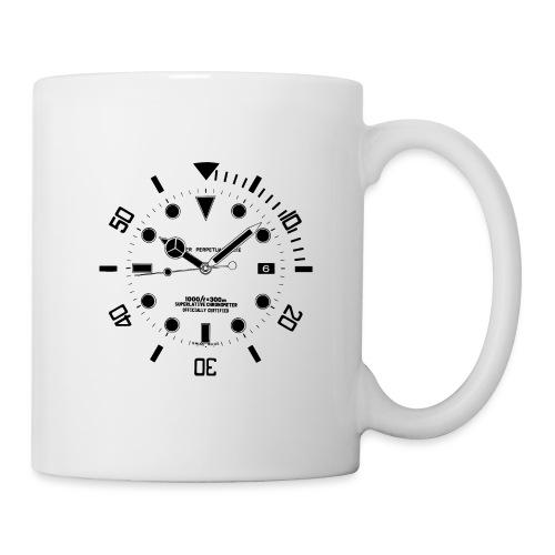 Submarine Luxury Watch Dial Details - Mug