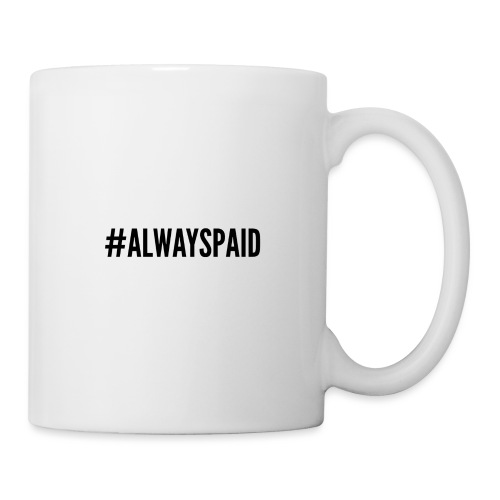 AlwaysPaid - Mug blanc