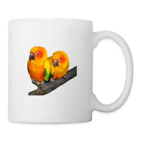 Parrots Love Valentin's Day 2018 - Mug blanc
