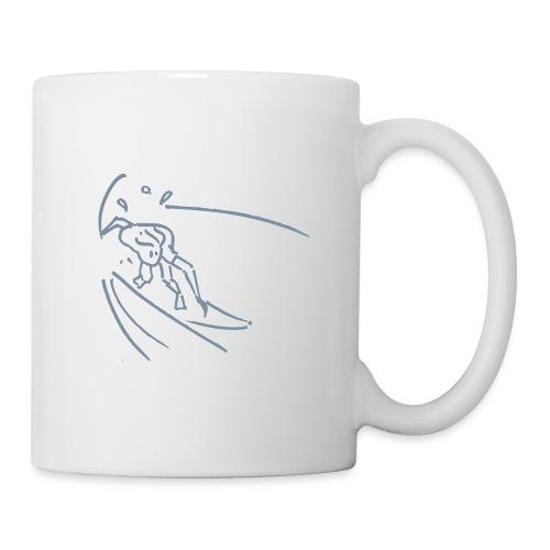 Surf — Tube - Mug blanc