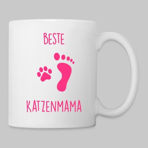 Beste Katzenmama - Tasse