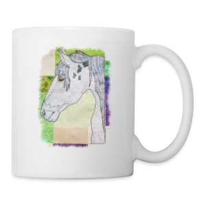 Dapple Grey Horse Design - Mug