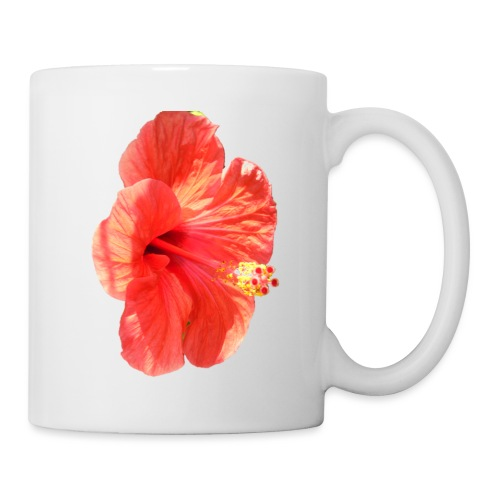A red flower - Mug