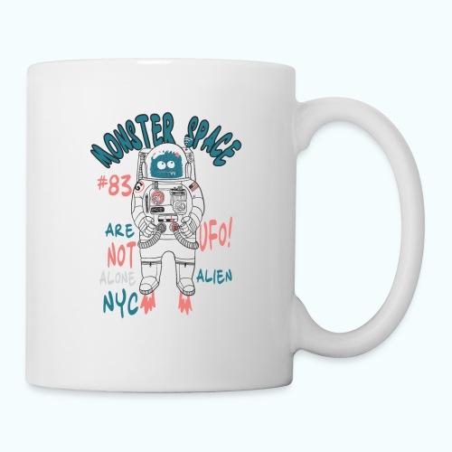 Little Monster In Space 80s Retro - Mug