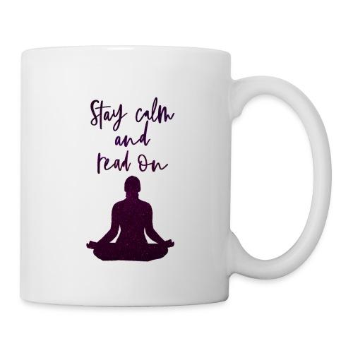 Meditation & Lesen - Tasse
