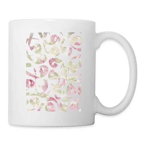 Floral Vav-Kissen - Mug