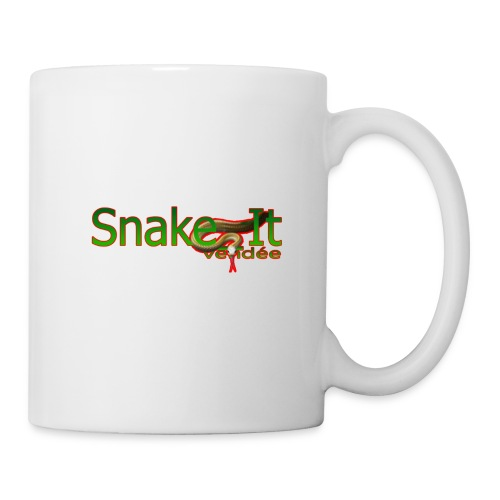 Snake it vendee LOGO CONTOUR ROUGE - Mug blanc