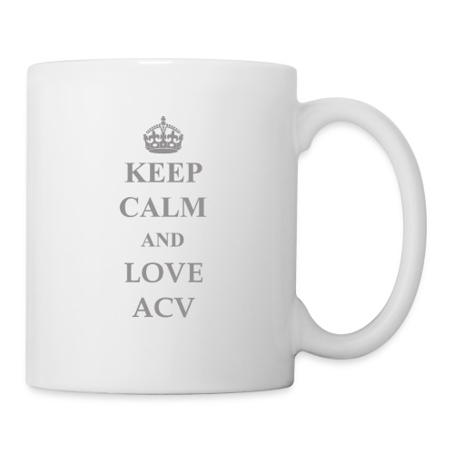 Keep Calm and Love ACV - Schriftzug - Tasse