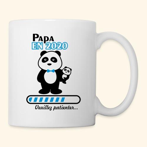 papa en 2020 - Mug blanc