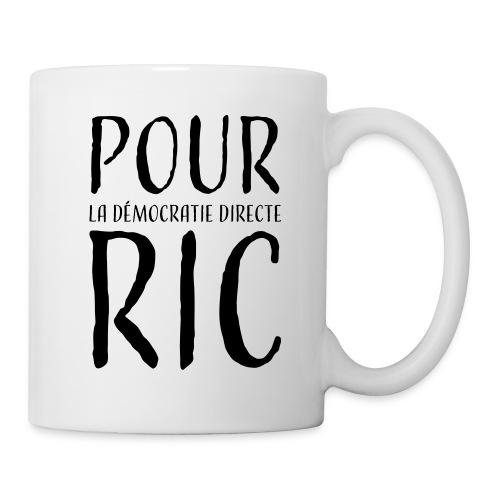 Pour une démocratie directe RIC, gilets jaunes - Mug blanc