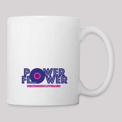Logo PowerFlower colori - Tazza