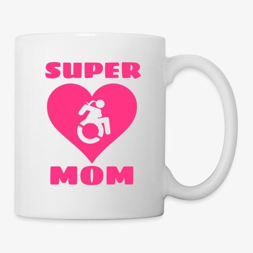 Super mama in rolstoel, moeder in rolstoel, mama - Mok