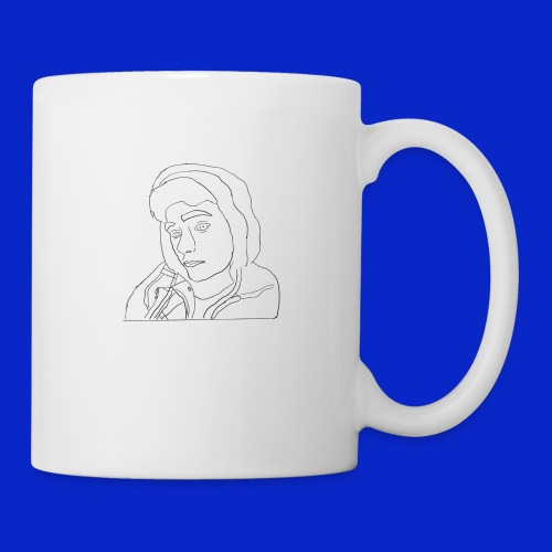 Jonny C cartoon drawing - Mug