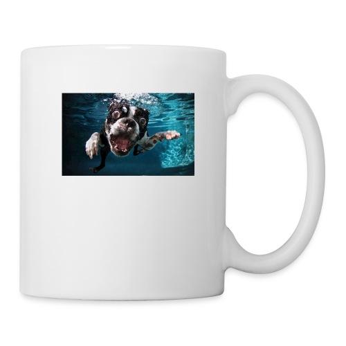 Svømmende hund - Kopp