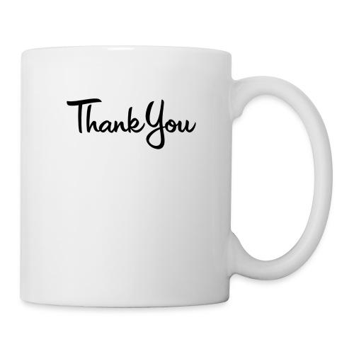 Logo Thank You - Mug blanc