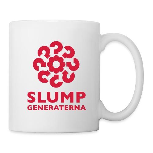 Slumpgeneraterna, logo röd - Mugg