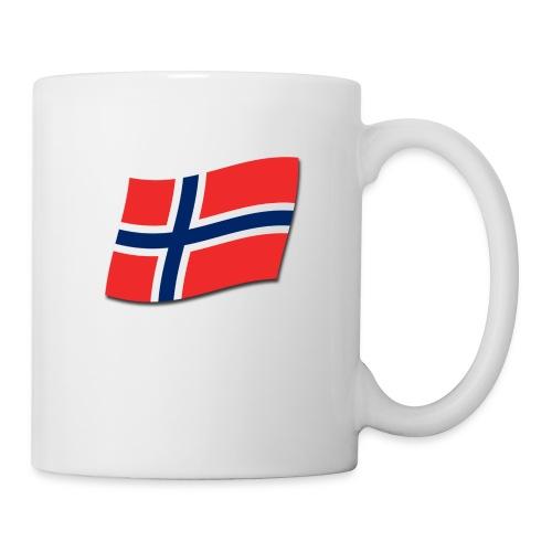 Singlet m/flagg og teksten TIL VALHALL! - Kopp