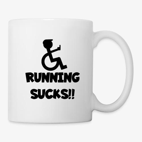 Rolstoel gebruikers haten rennen - Mok