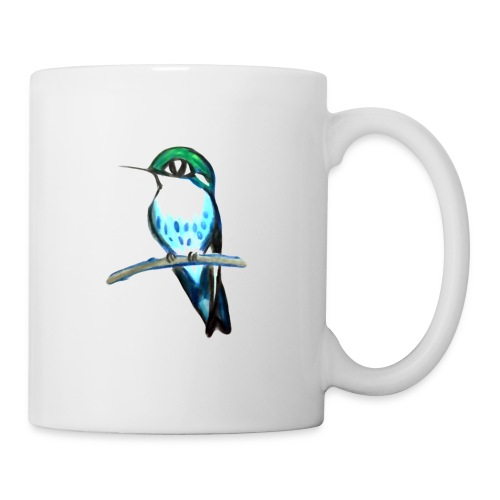 Bird on a branch - Mugg