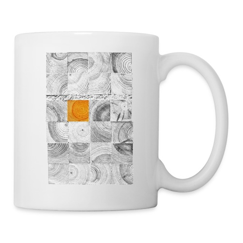 Cubes de Bois - Mug blanc