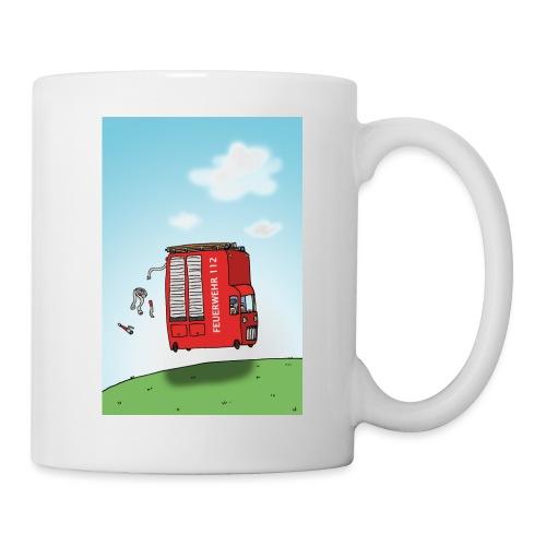 Feuerwehrwagen - Tasse