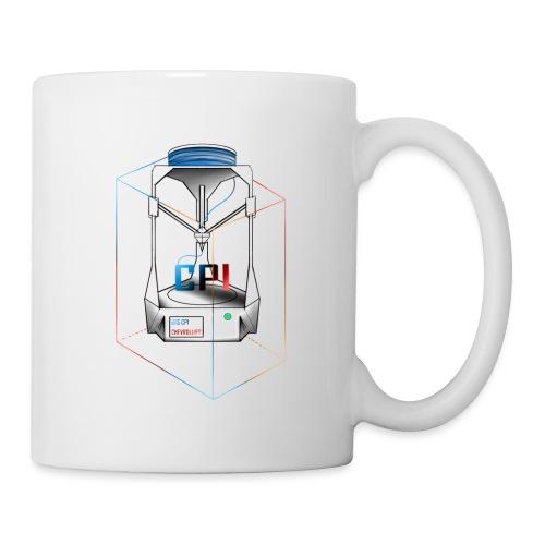 New Logo CPI - Mug blanc