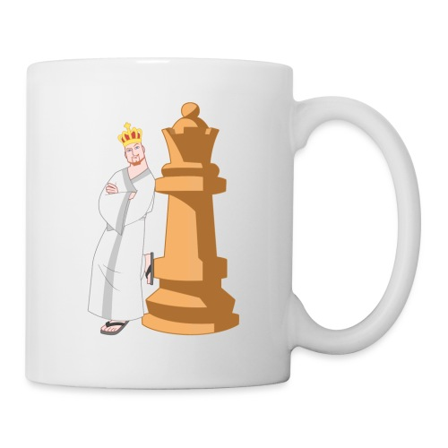 Samurai with Queen - Mug