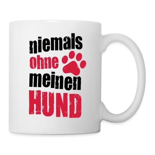 Vorschau: niemals ohne meinen hund - Tasse