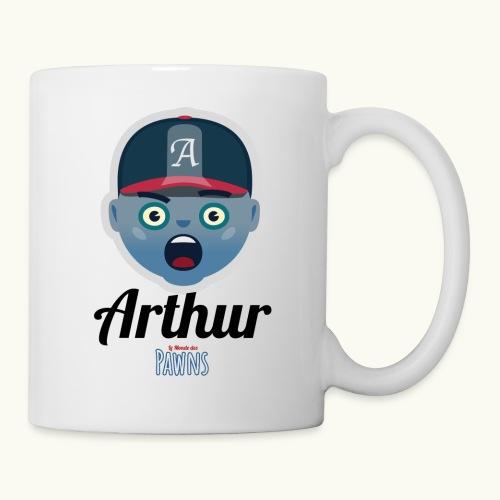 Arthur (Le monde des Pawns) - Mug blanc