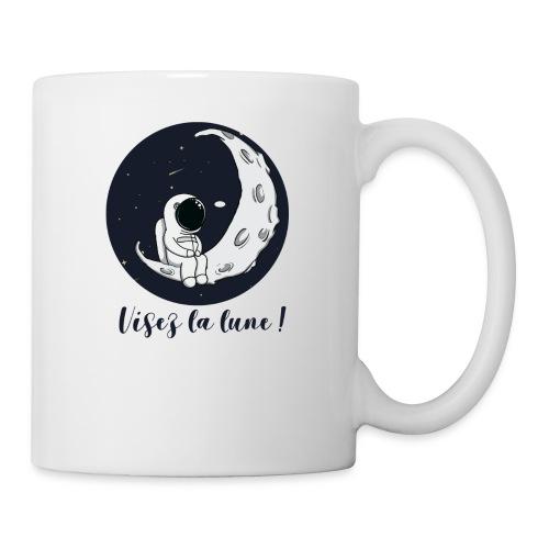 Visez la lune ! - Mug blanc